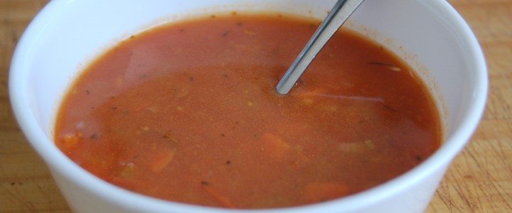 Tomato Mirepoix Soup